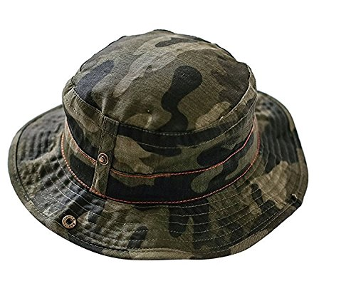 YTYC Baby Sun Hat Camo Bucket Kids Summer Hat (51CM 1-2years old)