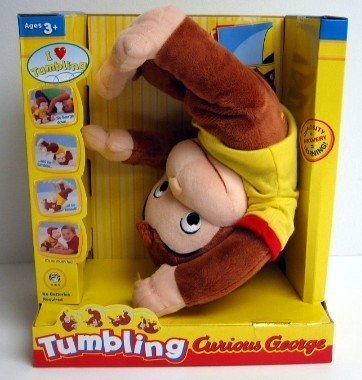 Marvel Curious George - Tumbling Curious George