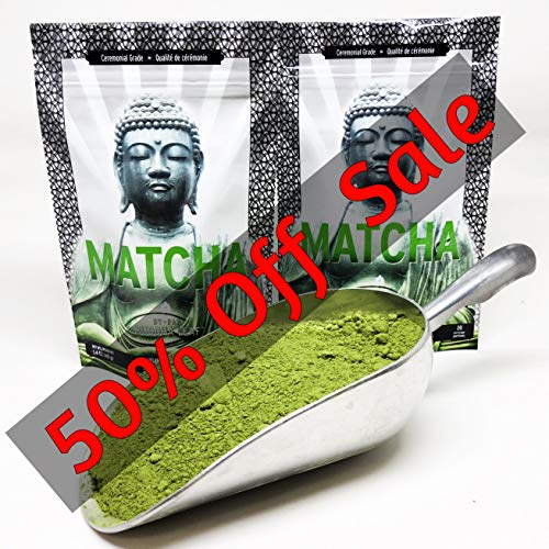 - Matcha Green Tea Powder Ceremonial Grade - Japan's highest grade green tea – Made from Gyokuro: Organic, Gluten Free, Unsweetened & Sugar Free. The ideal pure green tea to be served by itself.