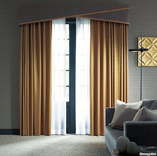 サンゲツ メタリックな色使いと光沢感が特徴の繊細な模様 カーテン2.5倍ヒダ SC3506 幅:200cm ×丈:210cm (2枚組)オーダーカーテン 210  B07849S7WS
