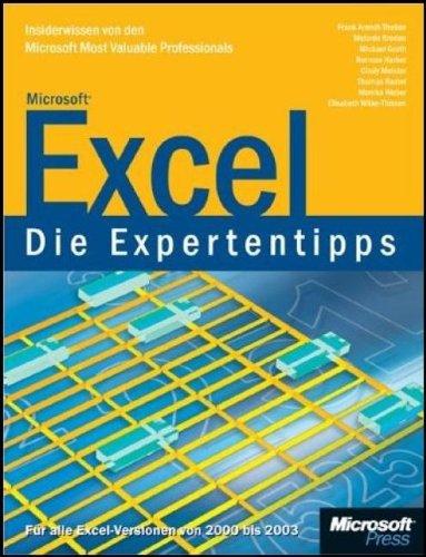Microsoft Excel - Die Expertentipps: InsiderwissenvondenMicrosoftMostValuableProfessionals