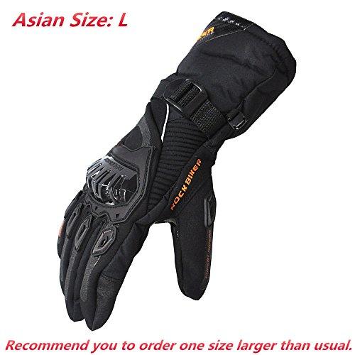Waterproof Winter Motorcycle Gloves - 3