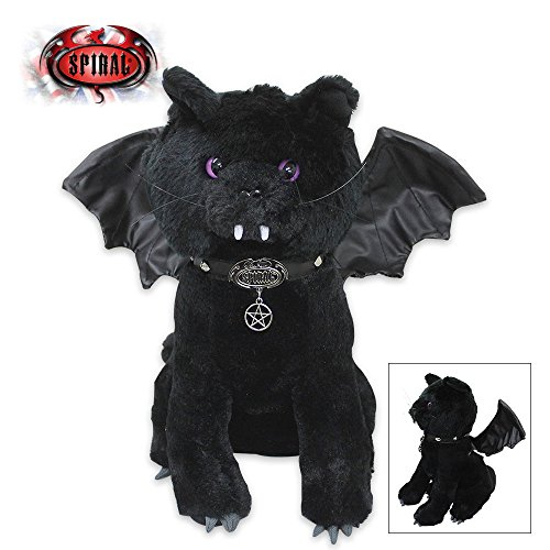Coffin Bat (Spiral Direct BAT CAT - Winged Collectable Soft Plush Toy 12 inch by Spiral Direct)