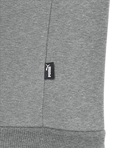 Logo Tr Ess Hoody Puma Gris Fz Sweat Homme shirts Big Bq6AT