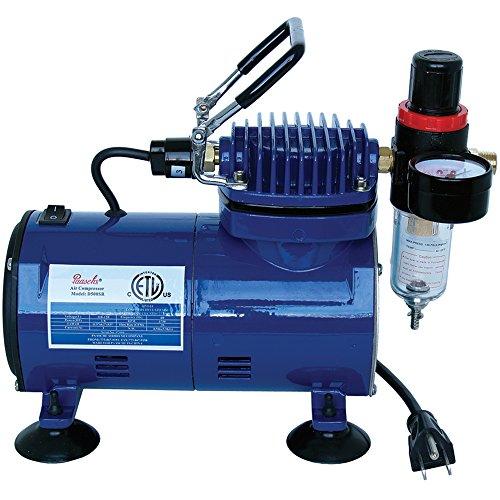 Paasche D500SR 1/5 HP Compressor with Regulator and Moisture Trap