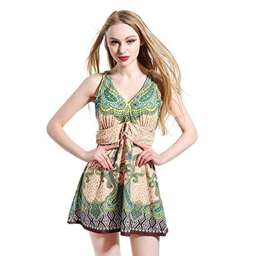 Cubierta tamaño del vientre delgado grupo de traje de baño señora siamés Green