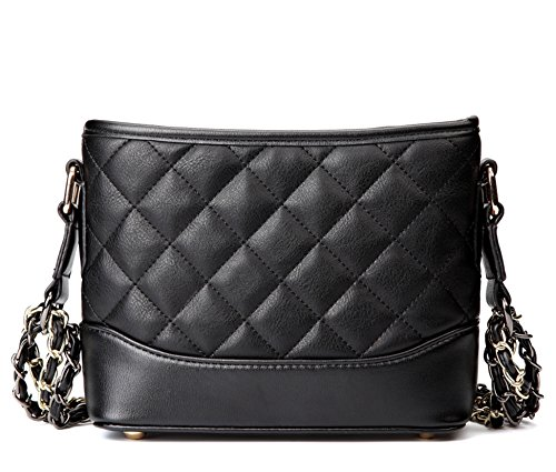 Quilted Hobo Handbag - 8