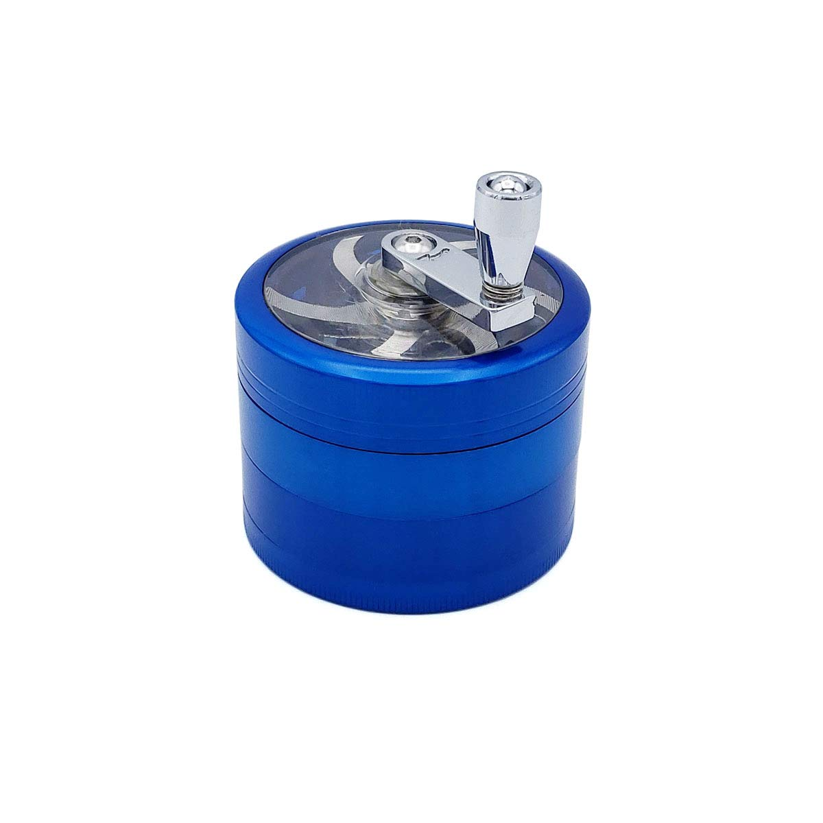 Gifts Infinity Personalized Herb, Spice Durable 62mm 2.5 Inches Grinder free engraving (Mill Blue) by GIFTS INFINITY