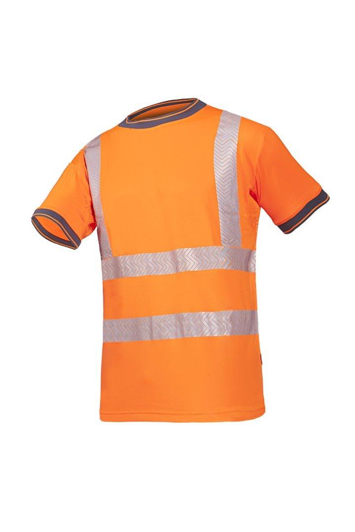XX-Large SIOEN 3876A2MC3FC12XL Rovito Hi-Vis T-Shirt Orange