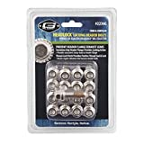 Mr. Gasket 2236G Headlock Locking Header Bolt, (Set of 17)