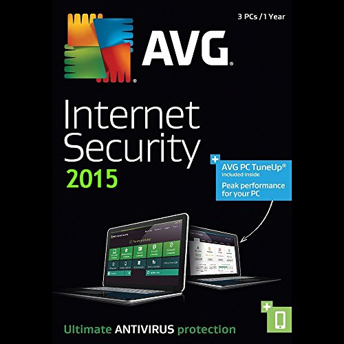 Avg Internet Security 2015 1year 3pc 3user License Download Global