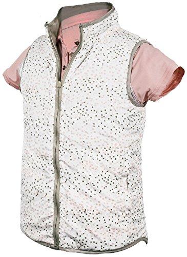 Garb Girls Vanessa Vest Metallic Print Large (9-10) by Garb