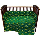 Oregon 5 piece Baby Crib Set by College Covers