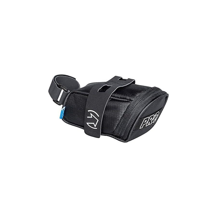 PRO Mini Strap Bicycle Saddle Bag Black