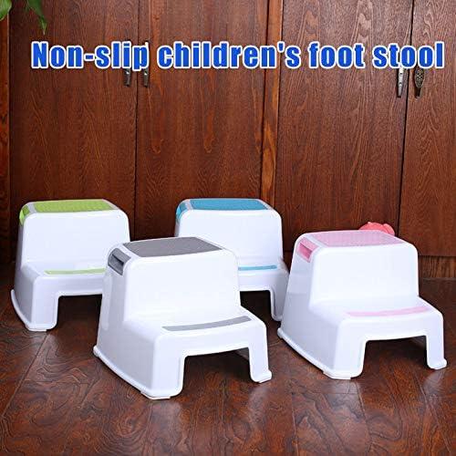 Herewegoo /Apprentissage de la propret/é des Toilettes 2 tabourets marchepied pour Tout-Petit antid/érapant pour Salle de Bain