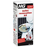 HG Toilet Renovation Kit 500 ml – is an extremely powerful toilet cleaner for removing stubborn stains and limescale