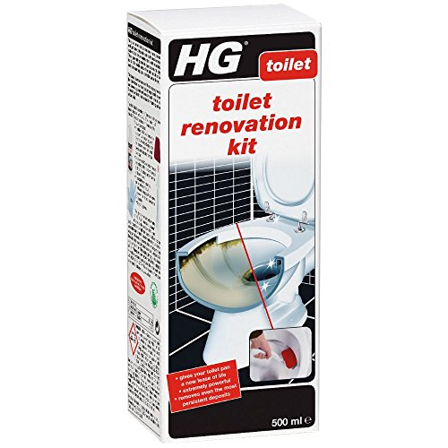 HG Toilet Renovation Kit 500 ml - is an Extremely Powerful Toilet Cleaner for...