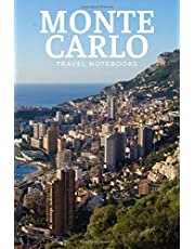 Monte Carlo Travel Notebook: Journal, Diary (110 Lined Pages, 6 x 9)