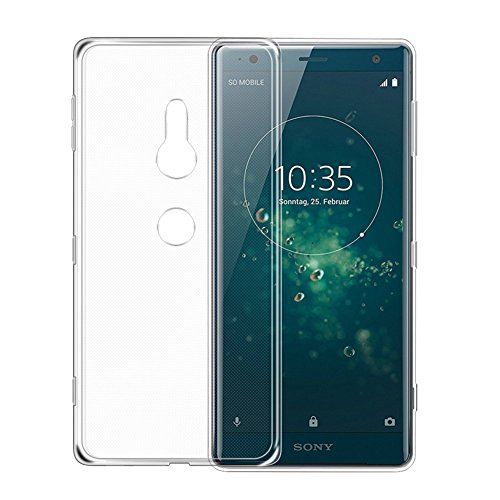 AVIDET Sony Xperia XZ2 Case, Crystal Clear Soft Thin Anti-scratches Cover for Sony Xperia XZ2 (Transparent)