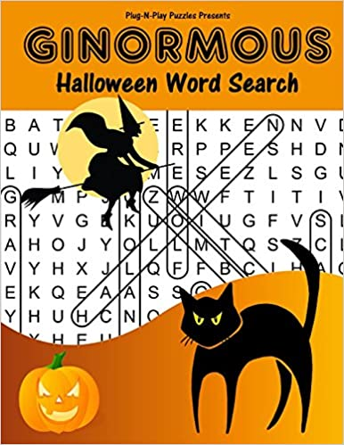 amazon ginormous halloween word search plug n play puzzles