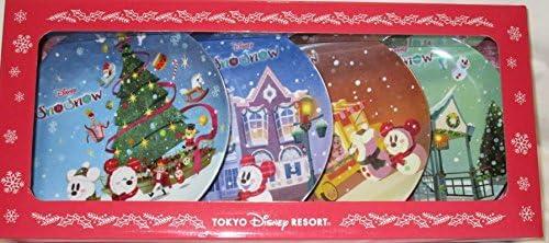 プレートセット(4個セット)ディズニー クリスマス 2017  スノースノー 雪だるま  プレート お皿 東京ディズニーリゾート限定 TDR