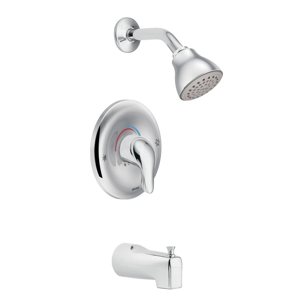 Wonderful Moen L2353 Chateau Tub And Shower Faucet Set With Moenu0027s PosiTemp Shower  Valve, Chrome   Single Handle Tub And Shower Faucets   Amazon.com