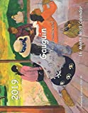 Gauguin Post Impressionist 16 Month Wall Calendar 2019 (Strawberry Calendars 2019) by