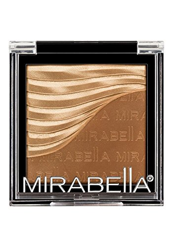 Mirabella Sculpting Duo Bronzer and Highlighter Contouring Powder – Golden Nude, 6g/0.21oz