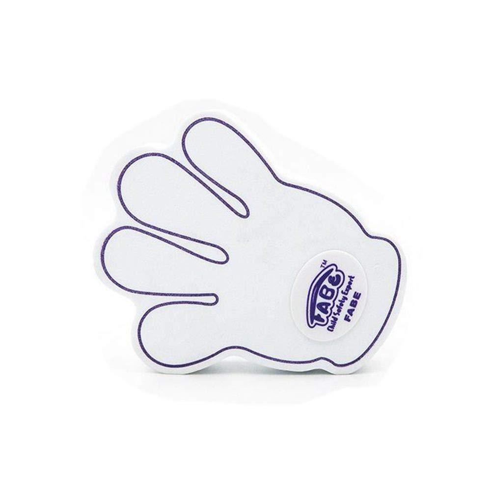 Qiajie Baby T/ür Sicherheit Finger Trap Stopper Nette kleine Handform T/ürstopper Fingerschutz