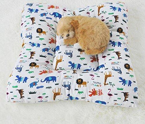 Enzhe Pet Design Incantevole Tappetino Antiscivolo in Cotone Resistente all'asciugatura in Lavatrice