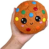 "Anboor 4.3"" Squishies Cookies Chocolate Kawaii Soft Slow Rising Scented Food Squishies Stress Relief Kid Toys Gift Collection"