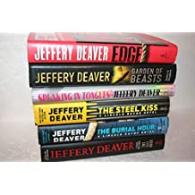 Jeffrey Deaver (6-book set) [[Edge; Garden of Beasts; Speaking in Tongues; The Steel Kiss; The Burial Hour; The Kill Room]]