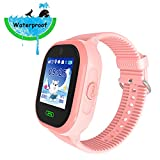 9Tong Kids GPS Smart Watch Waterproof GSM SIM Card GPS Tracker SOS Call Safety Fence Touch Screen Pedometer Smartwatch For Boys Girls Birthday Gift