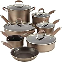 Anolon Advanced Bronze Hard-Anodized 12-Pcs. Cookware Set + $30 Kohls Cash