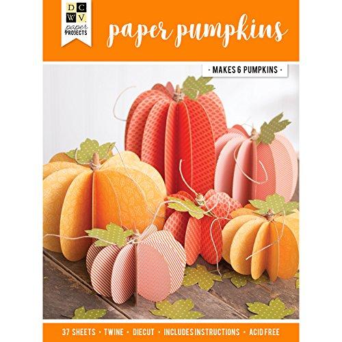 DCWV 614598 Pumpkins Paper Project -