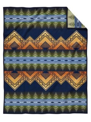 Pendleton American Treasures Wool Blanket, Twin