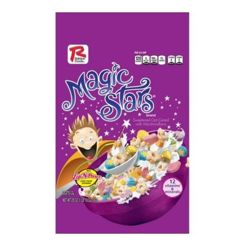 Ralston Foods Magic Stars Cereal, 28 Ounce -- 4 Per Case