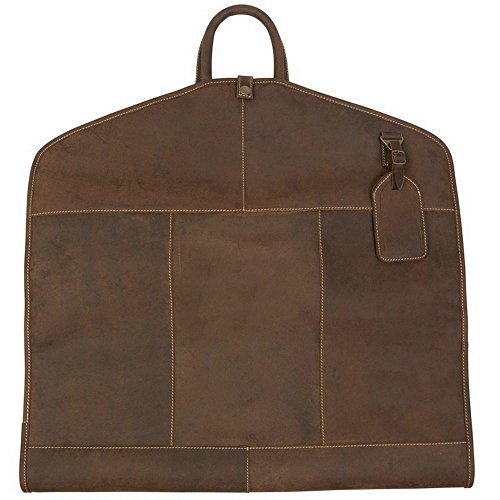 Canyon Outback Turtle Creek Leather Garment Sleeve, Distressed Brown, One Size by Canyon Outback