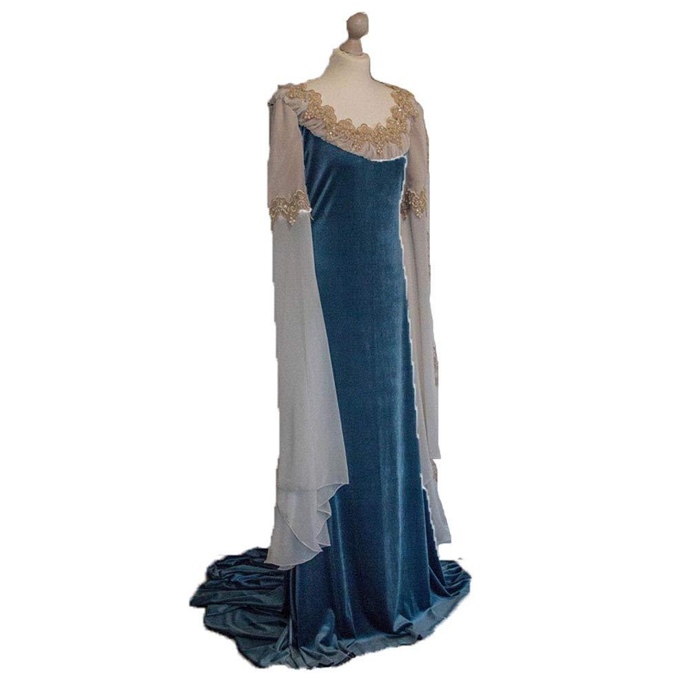 CAGYMJ Dress Party Mujer Vestido,Cosplay Medieval Retro De ...