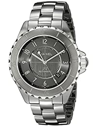 Womens H2934 Analog Display Automatic Self Wind Grey Watch · CHANEL