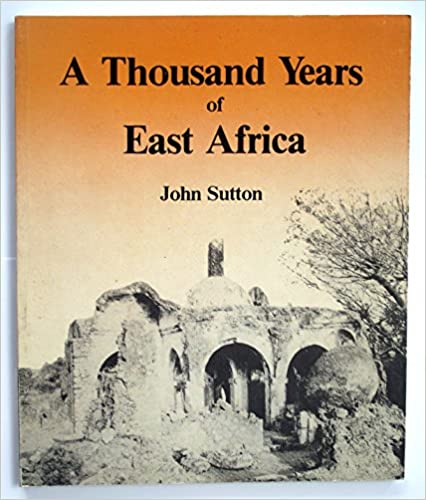 Book A Thousand Years of East Africa