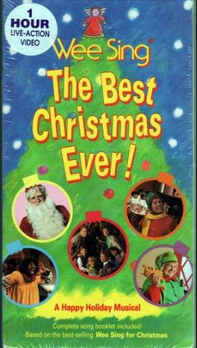 Wee Sing The Best Christmas Ever Vhs.Wee Sing The Best Christmas Ever A Happy Holiday Musical