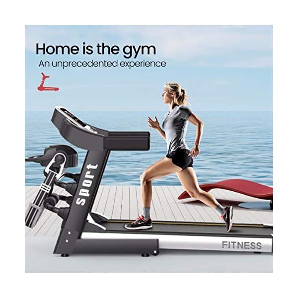 Fitness Club Tapis roulant Professionale, Pieghevole, Macchine da Passeggio Carico 150 kg, Cyclette Compatibile WiFi… 6 spesavip