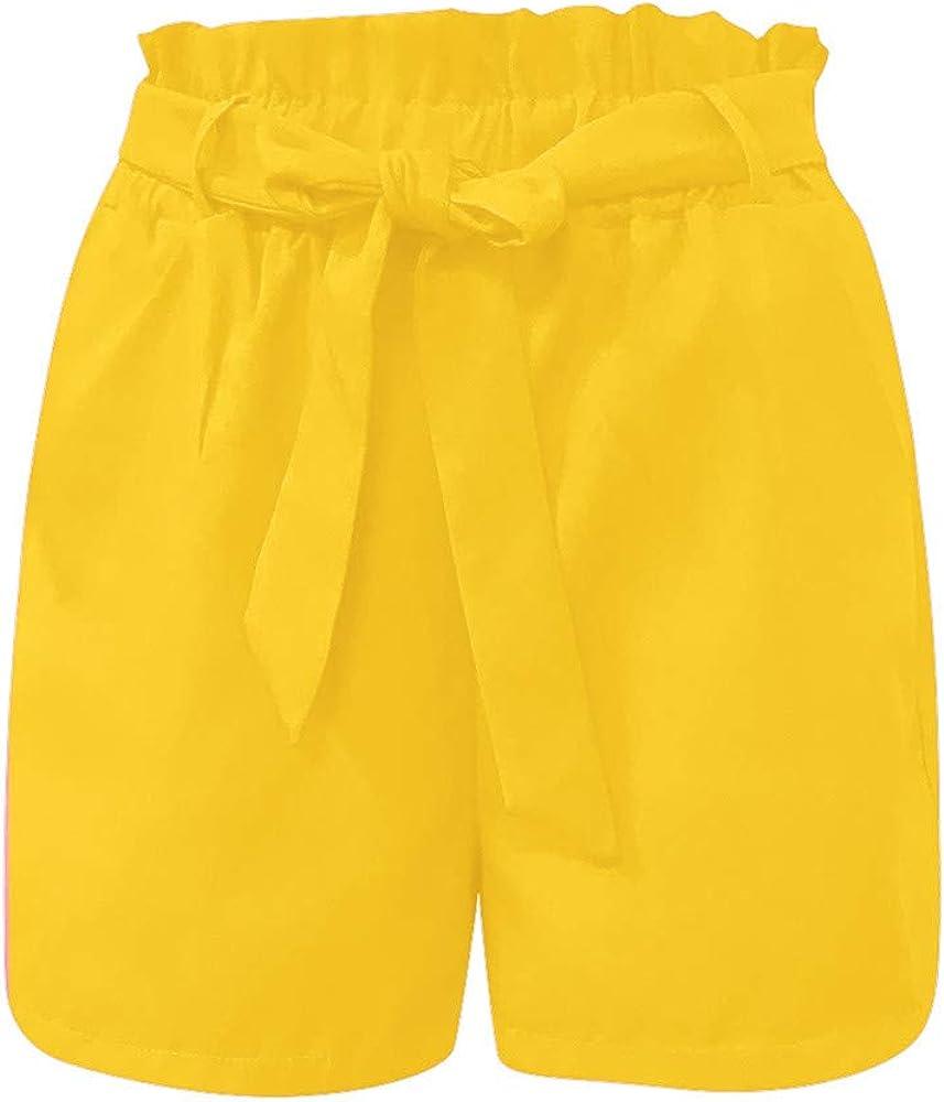 Gusspower Pantalones Cortos Algodón Mujer de Verano Pantalones ...