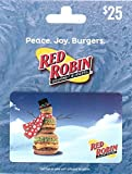 Red Robin Restaurants Holiday $25 Gift Card