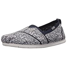 BOBS from Skechers Women's Plush Lite Tailor Made Flat