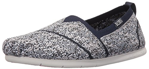 bobs-from-skechers-womens-plush-lite-tailor-made-flat-navy-gray-knit-7-m-us