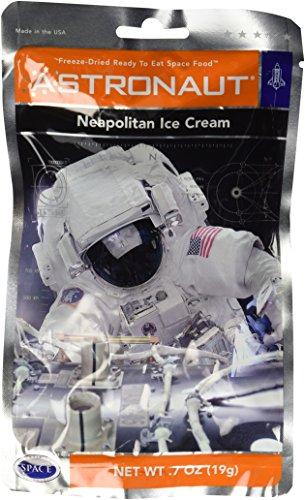 Astronaut Neapolitan Ice Cream .7 oz (19g) (Ice Cream Ice Cream compare prices)