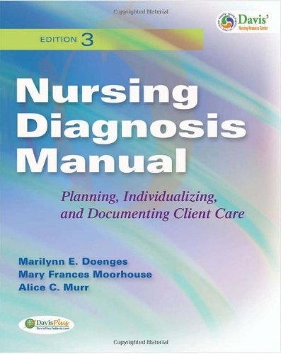 Download By Marilynn Doenges, Mary Moorhouse, Alice Murr: Nursing Diagnosis Manual: Planning, Individualizing, and Documenting Client Care Third (3rd) Edition ebook