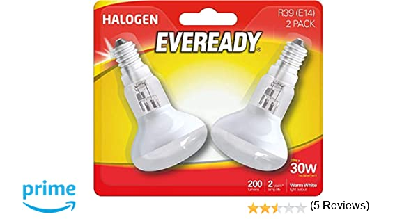 Bombilla reflectante de rosca Edison para lámpara de lava, R39, 30W, 2 unidades de Eveready: Amazon.es: Iluminación